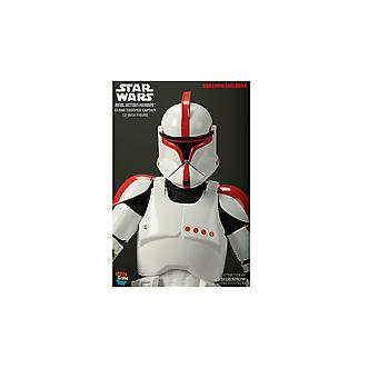 Clone Trooper Commander Figure from Star Wars Episode II Attack Of The Clones