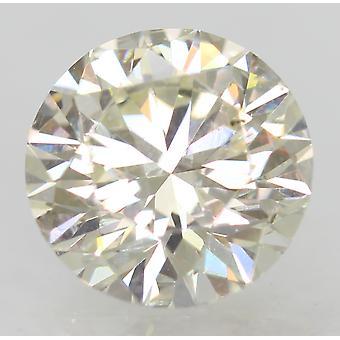 Certificado 1.01 Quilates I VS1 Ronda Brillante Diamante Natural Mejorado 6.45m EX CUT
