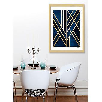 Art-Deco-Mitternacht frame
