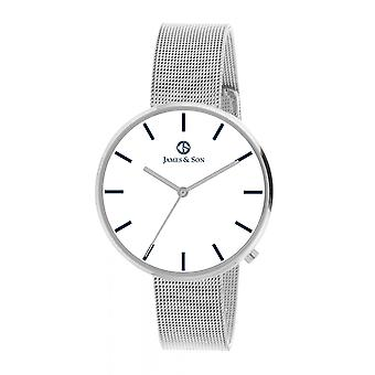 Watch James And his JAS10043 208 - steel man