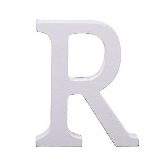 White Large Capital Alphabet Letters-R