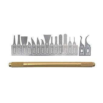Jabe 16-in-1 XF Blade Pack for Mobile Repair   iParts4u