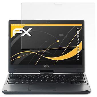 atFoliX 2x Screen Protector compatible with Fujitsu Lifebook T937 Screen Protection Film clear