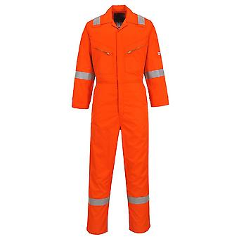 Portwest workwear coverall made from nomex comfort nx50