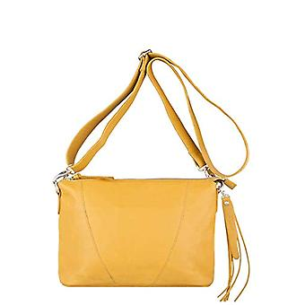 Legend BADIA-A Yellow Women's shoulder bag (yellow (oker 0121)) 10x21x30 cm (B x H x T)