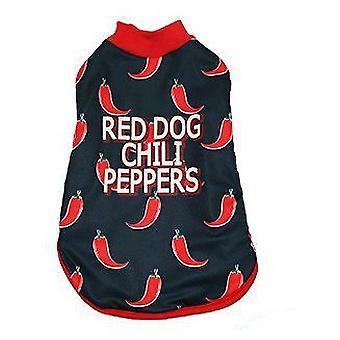 MI&DOG Abrigo Capa Felpado Red Dog T-25 (Dogs , Dog Clothes , Coats and capes)