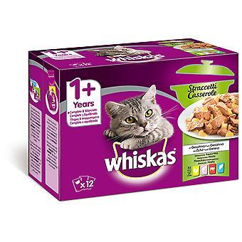 Whiskas 12 Pack Cassrole Mixto (Cats , Cat Food , Wet Food)
