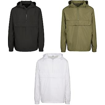 Build Your Brand Unisex Adults Basic Pullover Jacket