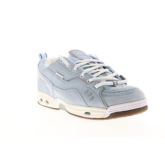 Globe CT IV Classic  Mens Blue Suede Lace Up Athletic Skate Shoes