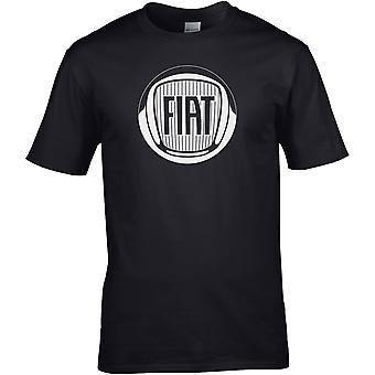Fiat B&W - Automotor - DTG gedruckt T-Shirt