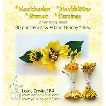 Leane Creatief Stamens Honey Yellow
