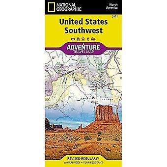 Spojené štáty americké, Juhozápadná dobrodružná mapa