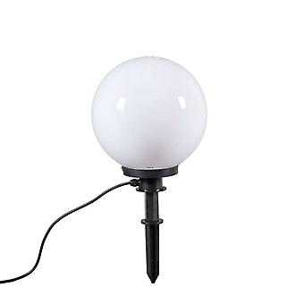 QAZQA Modern outdoor lamp with ground pin 30 cm IP44 - Bulb
