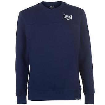 Everlast Mens Crew Neck SweaT Shirt Sweater T Top Jumper Pullover Long Sleeve