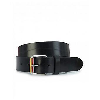 Paul Smith Accessories Enamel Leather Roller Belt