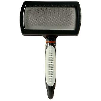 Trixie Teazel Brush in Plasitc, 12x20cm (Dogs , Grooming & Wellbeing , Brushes & Combs)