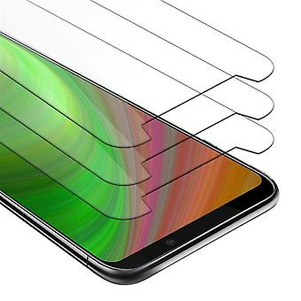 Cadorabo 3x Tank Foil for Xiaomi Black Shark 2 PRO - Protective Film in KRISTALL KLAR - 3 Pack Tempered Display Protective Glass in 9H Hardness with 3D Touch Compatibility