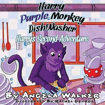 Harry Purple Monkey Dishwasher Harrys Second Adventure by Walker & Angela