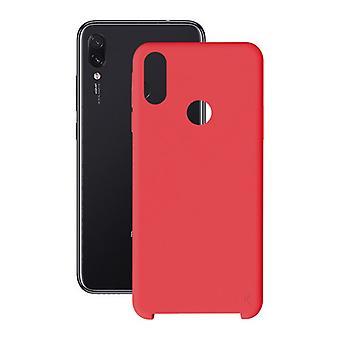 Capa móvel Xiaomi Redmi 7 KSIX Vermelho Macio