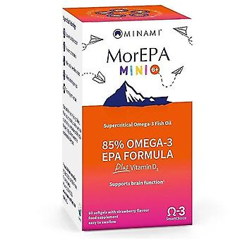 Minami Nutriton MorEPA Mini Junior Softgels 60