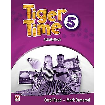 Tiger Time Level 5 Activity Book by Carol Read - 9780230483774 Book
