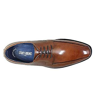 STACY ADAMS Men's Julius Bike Toe Oxford, Cognac