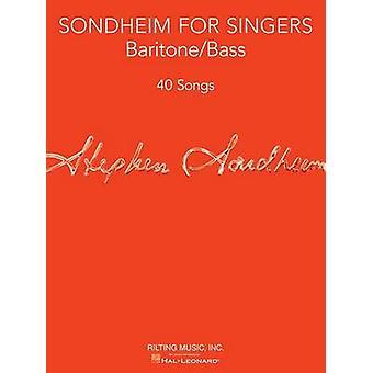 Sondheim For Singers BaritoneBass von Komponist Stephen Sondheim & Herausgegeben von Richard Walters