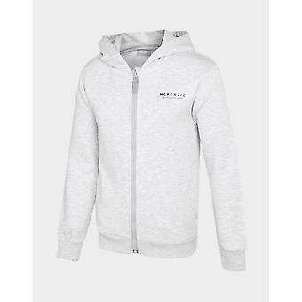 Nya McKenzie barn ' Essential zip genom hoodie Grey
