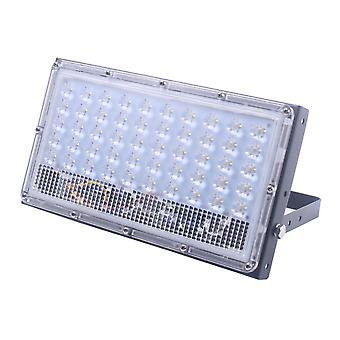 Jandei Black LED-projektor 50W ultratunn assembleable, vit Natual 4200K, för utomhus IP65, väggarm, tak