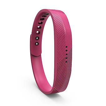 Replacement Wristband Bracelet Band Strap for Fitbit Flex 2[Large,Hot Pink] BUY 2 GET 1 FREE