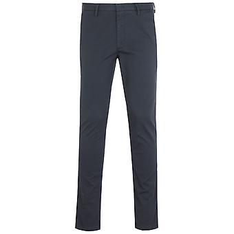 BOSS Kaito Tapered Fit Navy Chino Trousers
