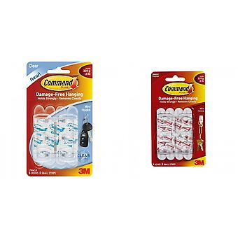 Command Mini Hooks (Pack of 6)