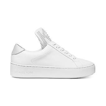 Michael Michael Kors mujeres's zapatos MIndy encaje hasta cuero bajo top encaje...