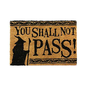 Official The Lord Of The Rings (You Shall Not Pass) Doormat