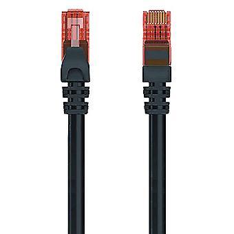 UTP Category 6 Rigid Network Cable Ewent EW-6U-005BL 1000 Mbit/s Black (0