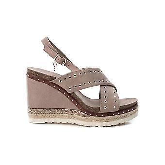 Xti - shoes - wedge pumps - 48922_TAUPE - ladies - tan - EU 41