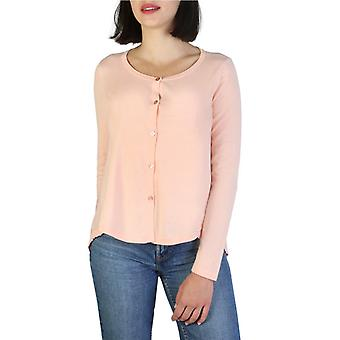 Woman long round neckline sweater aj87895