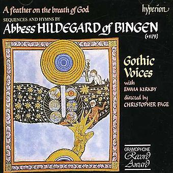 Hildegard of Bingen - A Feather on the Breath of God [CD] USA import