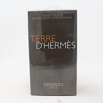 Terre D'hermes par Hermes Eau De Toilette 1.6oz/50ml Spray New With Box