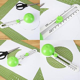 Circular Paper Scrapbooking Cards Cutters - Practical Round Cutting Patchwork Compass Knife