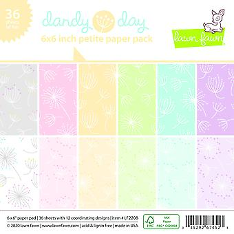 Lawn Fawn Dandy Day Petite 6x6 Inch Paper Pad