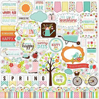 Adesivo elemento Echo Park Hello Spring 12x12