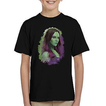 Marvel Guardians Of The Galaxy Vol 2 Gamora Kid's T-Shirt