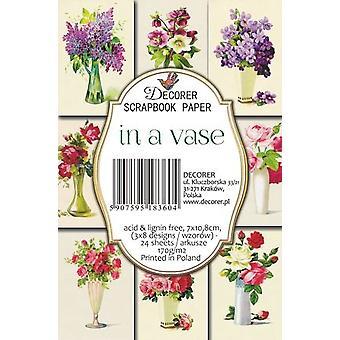Decorer In a Vase Paper Pack