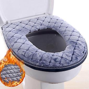 Zachte verdikte wasbare warmere toiletmat cover