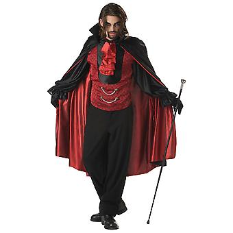 Count Bloodthirst Vampire Dracula Halloween Men Costume