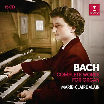 Alain*Marie-Claire - Bach: Complete Organ Works [CD] USA import