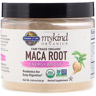 Garden of Life, MyKind Organics, Fair Trade Organic Maca Root, Energy Boost, 7.9