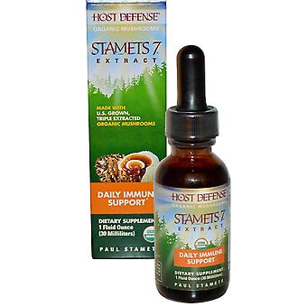 Fungi Perfecti, Stamets 7 Extract, Daily Immune Support, 1 fl oz (30 ml)