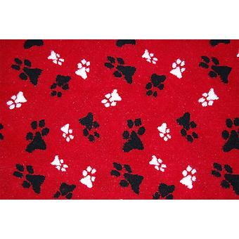 Animate Fleece Blanket - Red - Small (74x61cm)